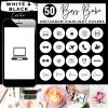 Boss Babe Instagram Story Covers -White & Black